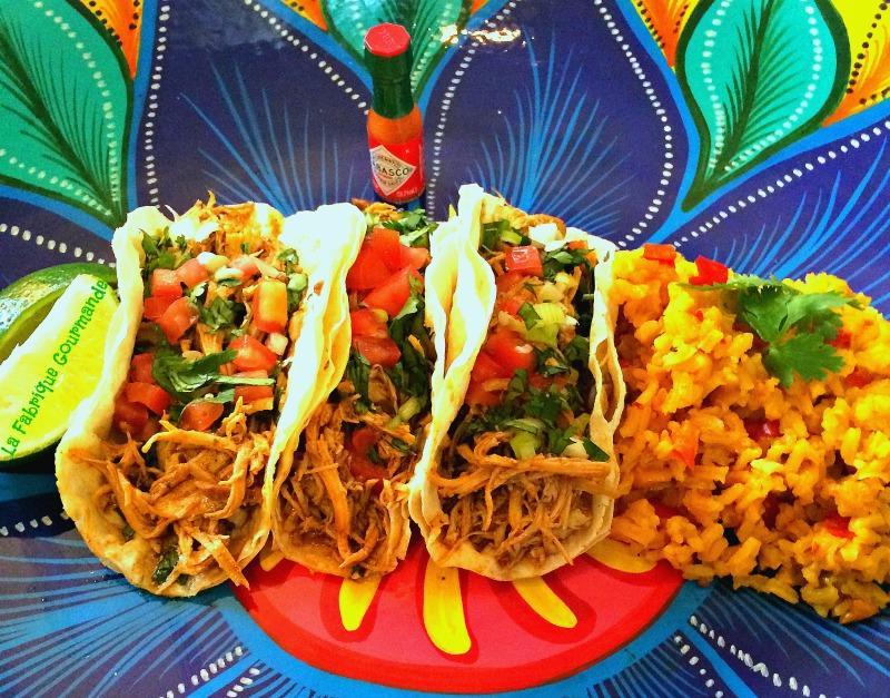 recette tacos de poulet et riz mexicain 750g. Black Bedroom Furniture Sets. Home Design Ideas