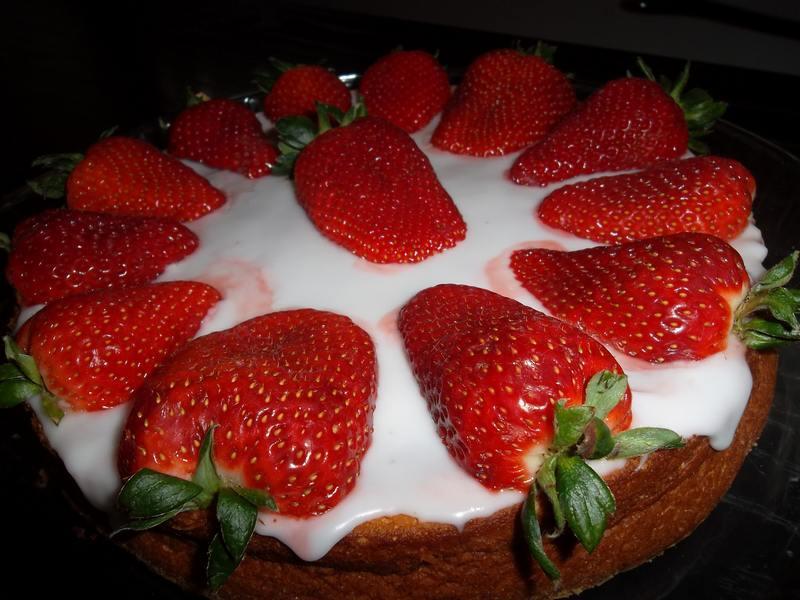 Recette g teau portugais aux fraises pour la fete des - Gateau pour la fete des meres ...