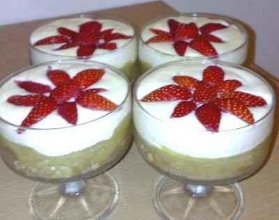 Recette verrine rhubarbe fraise la cr me de mascarpone - Cuisiner avec du mascarpone ...