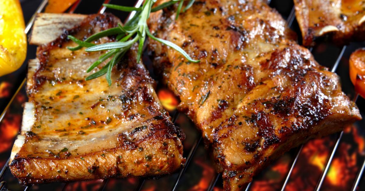 Recette barbecues ribs ou travers de porc marin s 750g - Cuisiner travers de porc ...