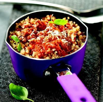 recettes du quinoa la viande hach e les recettes les mieux not es. Black Bedroom Furniture Sets. Home Design Ideas