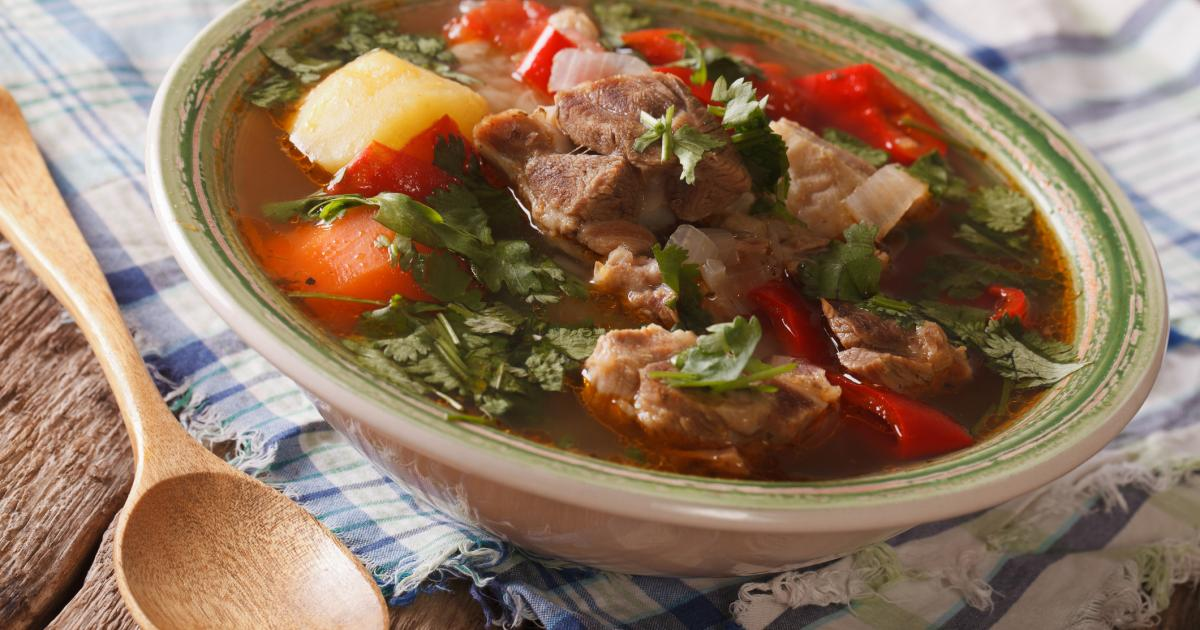 Recette chorba alg rienne traditionnelle 750g - Cuisine algerienne traditionnelle ...