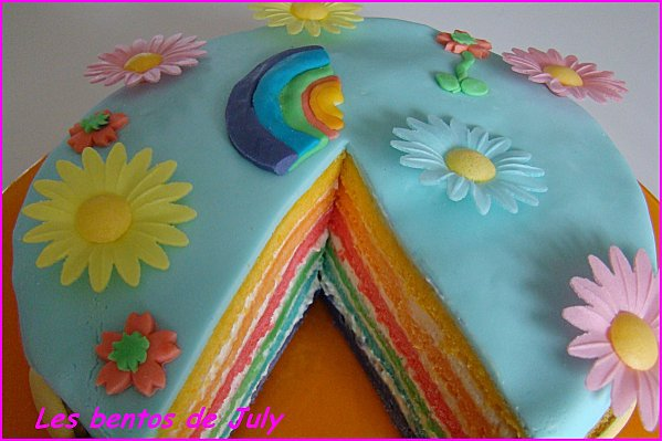 recette rainbow cake 750g. Black Bedroom Furniture Sets. Home Design Ideas