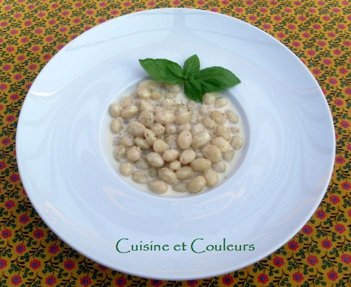 Recette cocos de paimpol l 39 ail blanc comme un risotto 750g - Comment cuisiner un patisson blanc ...