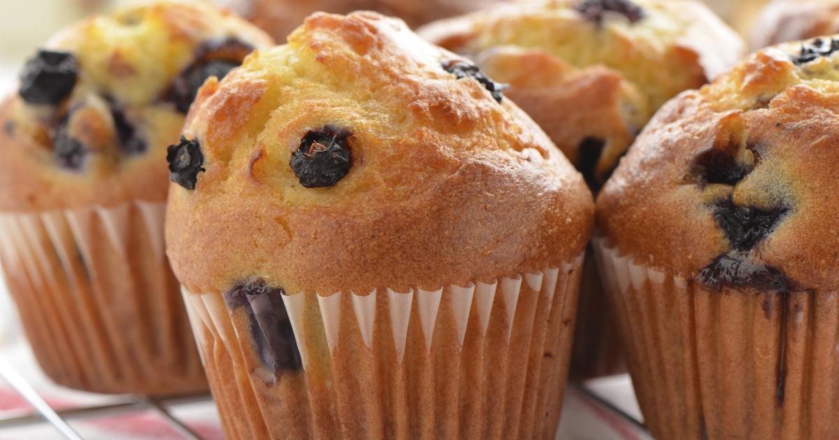 Recette - Muffins aux myrtilles | 750g