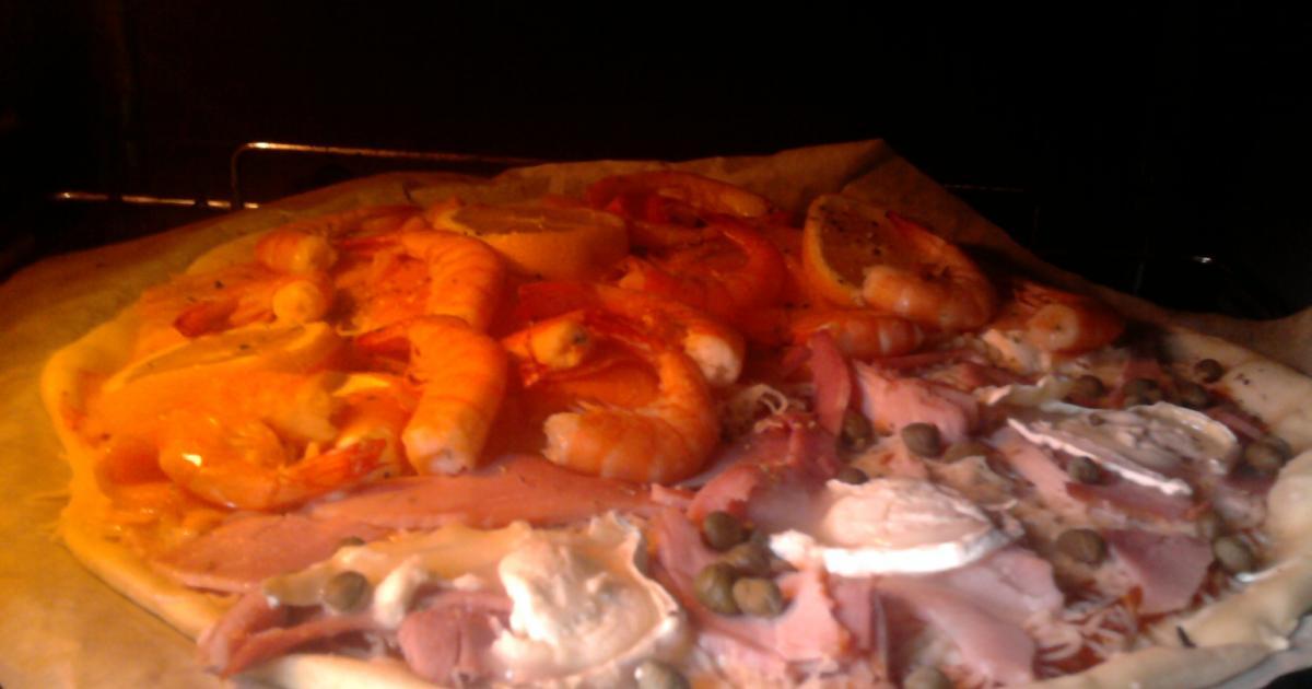 Recette - Pizza maison à personnaliser   750g