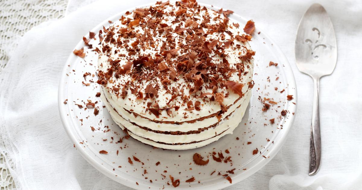 Layer Cake Chocolat Banane