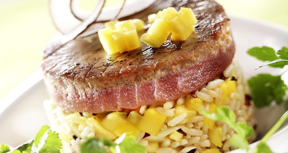 recettes de steak de thon en sauce les recettes les mieux not es. Black Bedroom Furniture Sets. Home Design Ideas