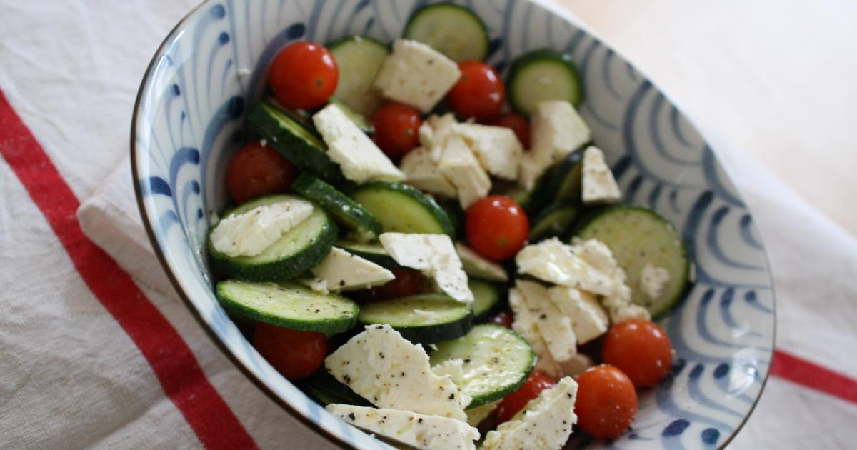 salade feta tomate