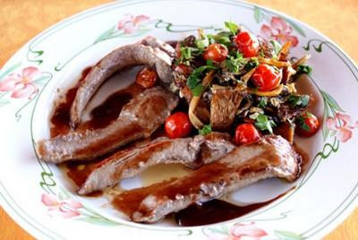 Recette aiguillettes de canard aux chanterelles sauce au porto 750g - Comment cuisiner aiguillettes canard ...