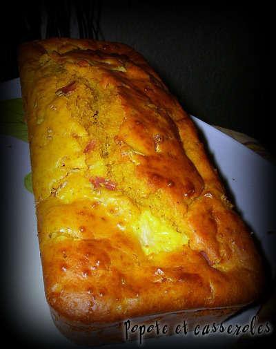 Cake Jambon Poivron Thermomix
