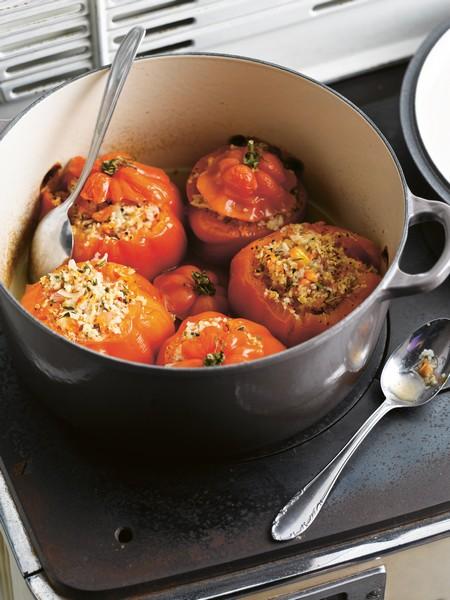Recette tomates coeur de boeuf farcies au crabe 750g - Cuisiner le coeur de boeuf ...