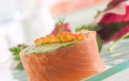 recettes de roul de saumon l 39 avocat les recettes les mieux not es. Black Bedroom Furniture Sets. Home Design Ideas