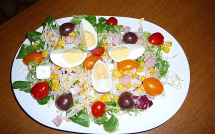 recette ma salade minceur 750g. Black Bedroom Furniture Sets. Home Design Ideas