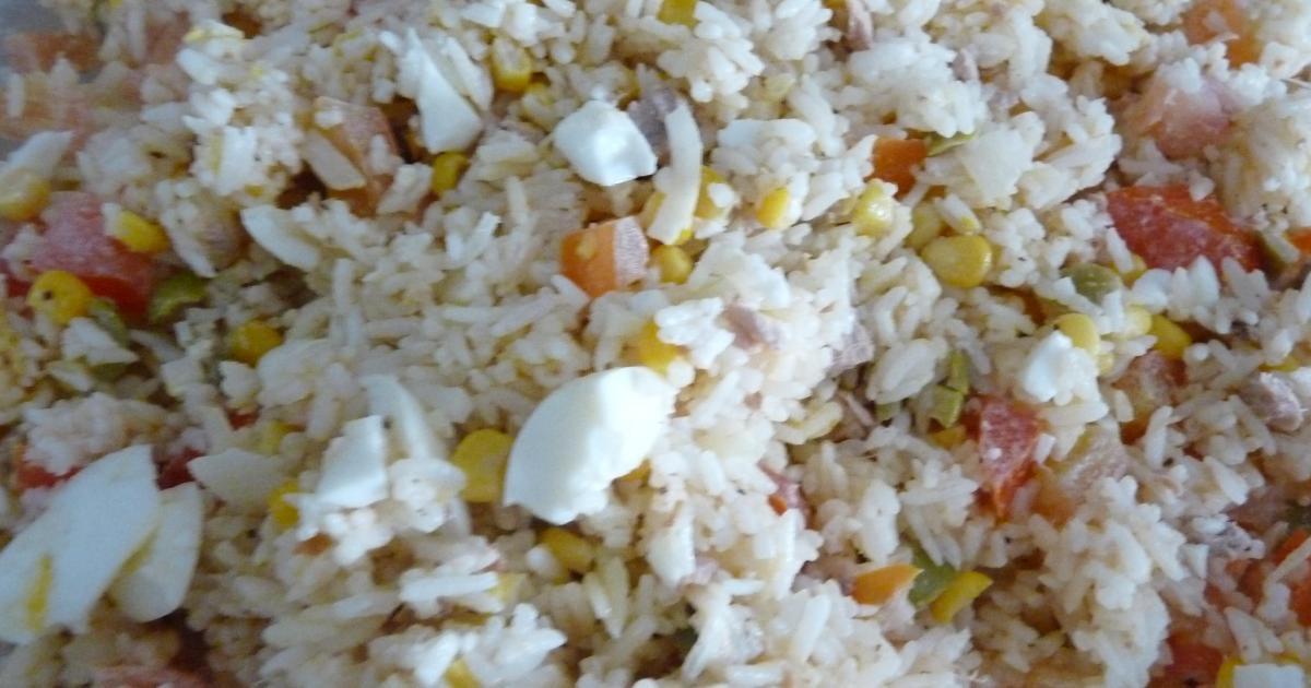 Recette Salade De Riz Au Thon Economique 750g