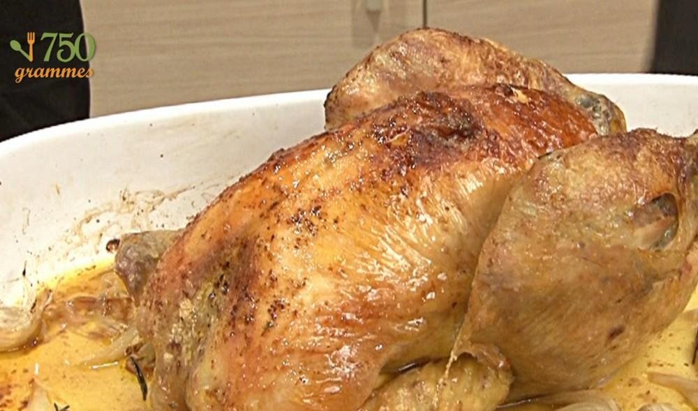 recette de poulet roti au four un site culinaire populaire avec des recettes utiles. Black Bedroom Furniture Sets. Home Design Ideas