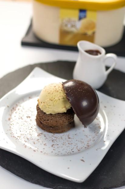 Recette fondant au chocolat fa on profiterole 750g - Fondant au chocolat 2 oeufs ...