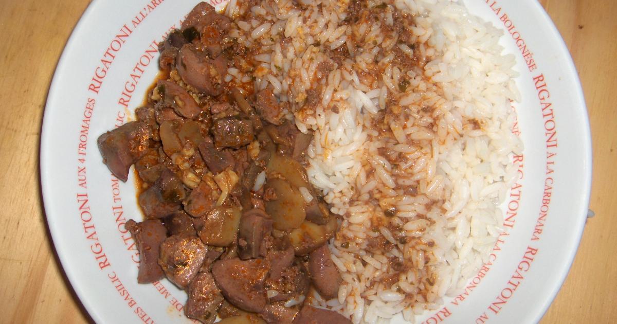 Recette rognons de porc aux champignons de paris 750g - Cuisiner des rognons de porc ...