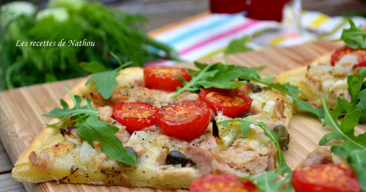 recette pizza au thon mozzarella marin e et fenouil confit 750g. Black Bedroom Furniture Sets. Home Design Ideas