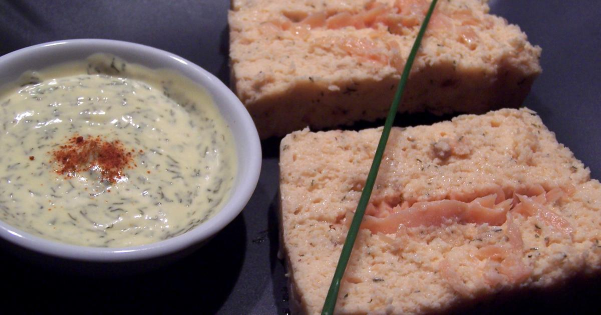 Recette terrine aux deux saumons froide 750g - Cfa versailles cuisine ...