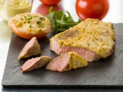 Recette tranche de gigot d 39 agneau grill e la diable 750g - Comment cuisiner un gigot d agneau ...