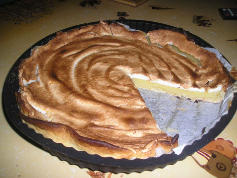 Recette tarte au citron meringu e 750g - Tarte citron meringuee recette ...