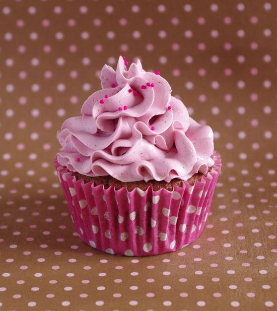 Recette - Cupcakes tout framboise | 750g
