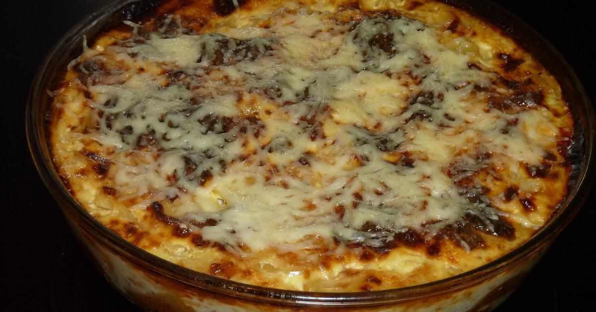 Recette gratin de pommes de terre au jambon fromage 750g - Gratin de pomme de terre jambon ...