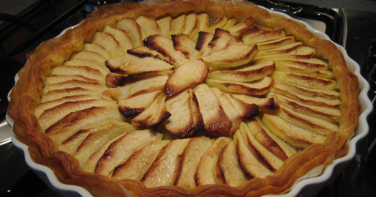 Recettes de compote de pommes les recettes les mieux not es - Tarte aux pommes compote maison ...