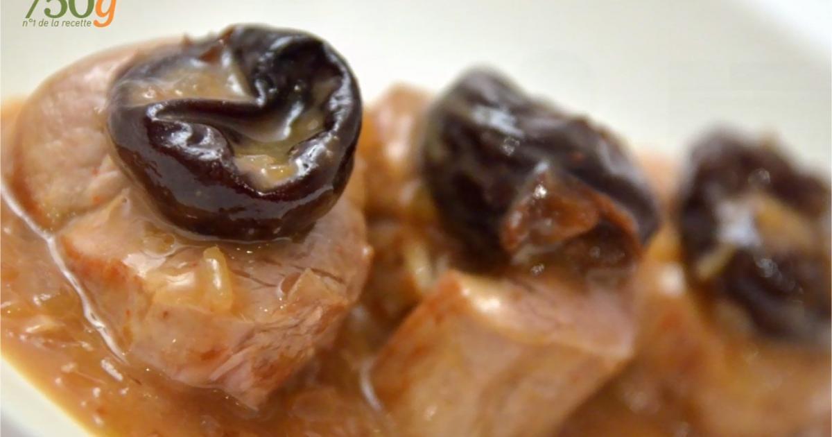 Recettes de filet mignon de porc aux pruneaux les - Cuisiner les pruneaux ...