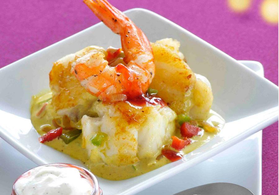 Recettes de crevettes la vanille les recettes les for Documentaire cuisine gastronomique