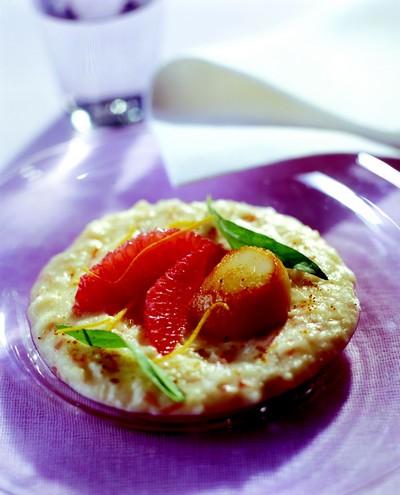 recette risotto au pamplemousse de floride noix de coquilles saint jacques la plancha 750g. Black Bedroom Furniture Sets. Home Design Ideas