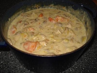 Recette blanquette l 39 ancienne au poulet 750g - Comment cuisiner une blanquette de veau ...
