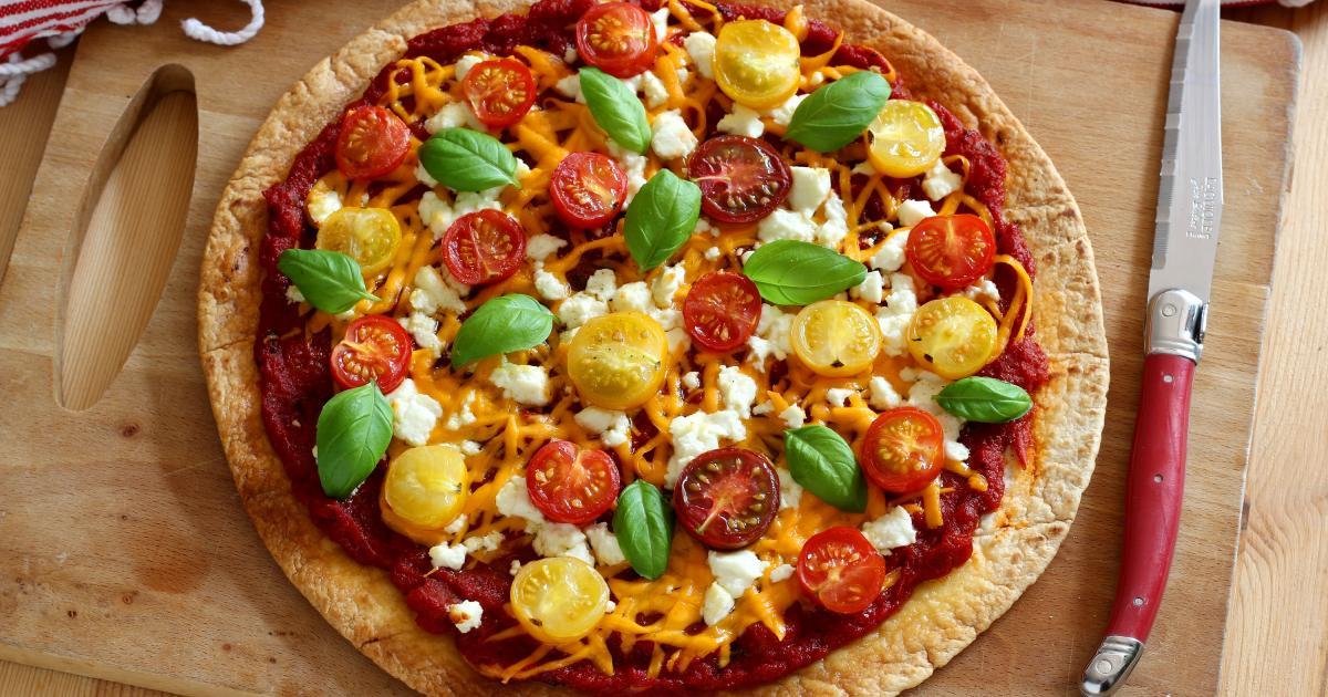 Gut bekannt Pizza minute : 8 pizzas sans pâte à pain - 7 photos HC68