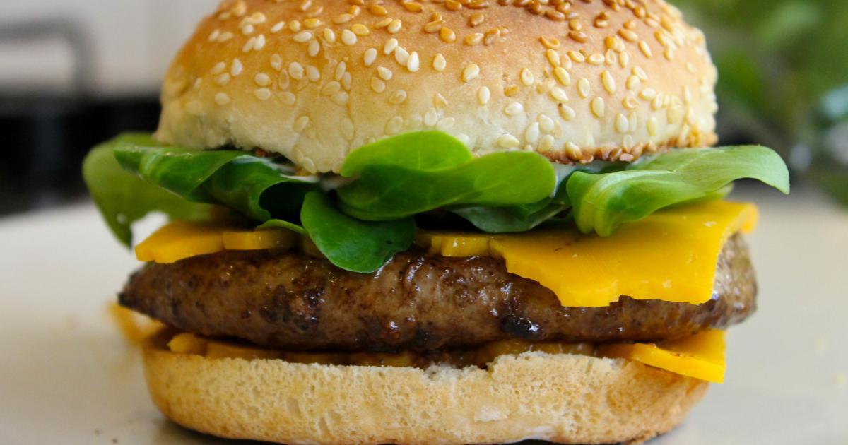 recette hamburger homemade with love 750g. Black Bedroom Furniture Sets. Home Design Ideas