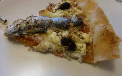 Recette tarte proven ale la sardine et au boursin ail et fines herbes 750g - Boursin cuisine ail et fines herbes ...