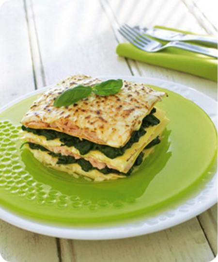 recette lasagnes au saumon et aux pinards traditionnelles 750g. Black Bedroom Furniture Sets. Home Design Ideas