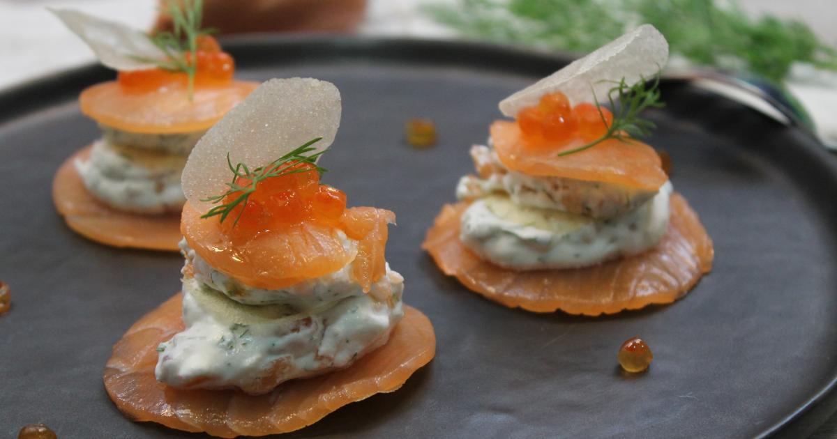 Recettes de bricks au saumon les recettes les mieux not es - Comment cuisiner des pieds de porc ...