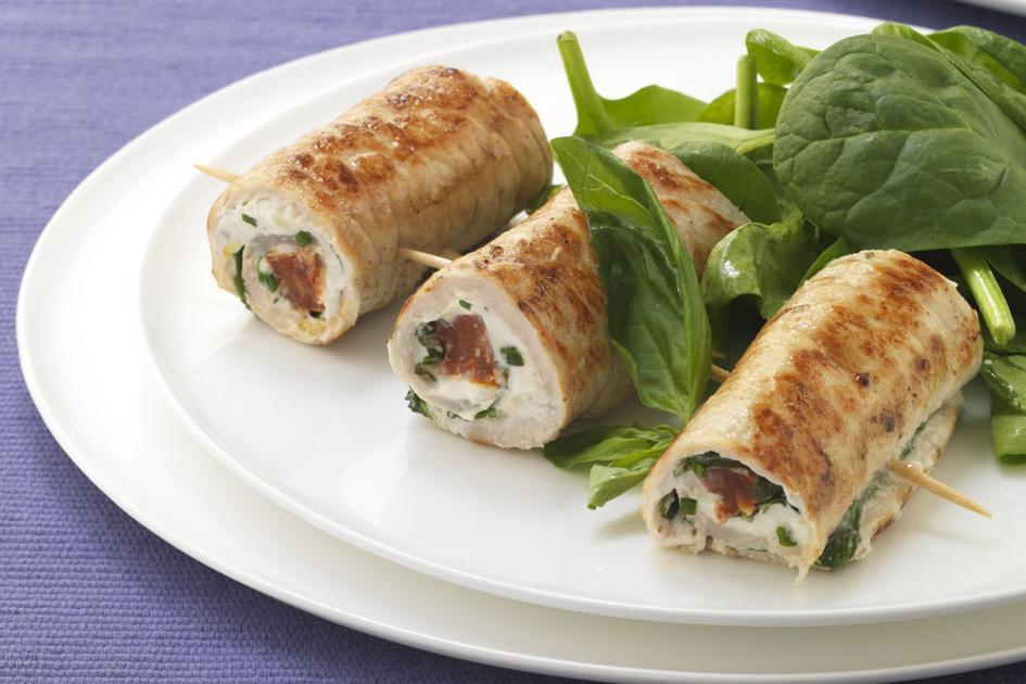Recette saltimbocca de veau et de chorizo au boursin for Cuisine 750g