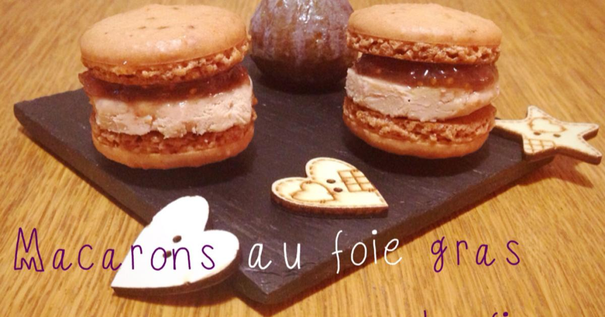 recette macarons au foie gras et la figue 750g. Black Bedroom Furniture Sets. Home Design Ideas