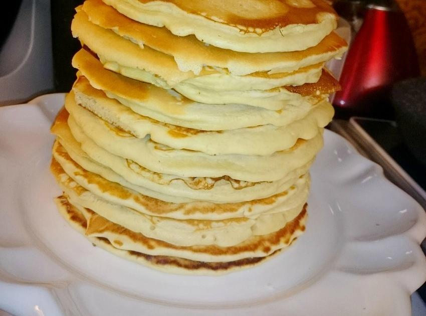 Recette - Pancakes faciles   750g