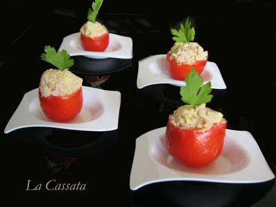 Recette petites tomates farcies des superbes finger for Cuisine 750g