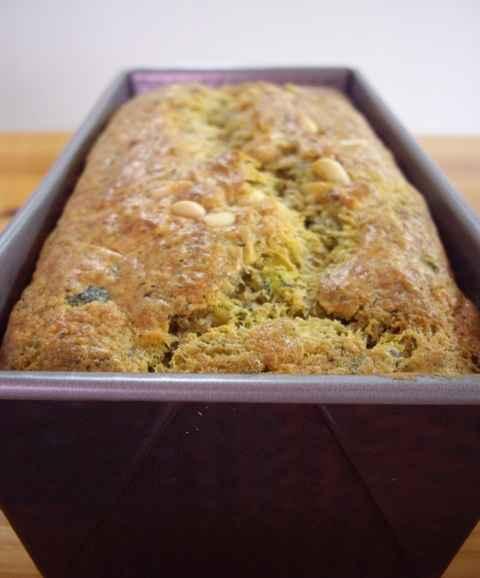 Cake Pesto Parmesan Thermomix