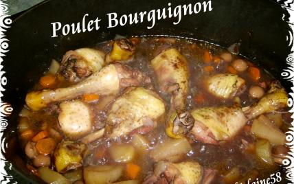 recette poulet bourguignon 750g. Black Bedroom Furniture Sets. Home Design Ideas
