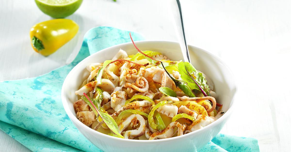Recette salade de poulpe au paprika 750g for Documentaire cuisine gastronomique