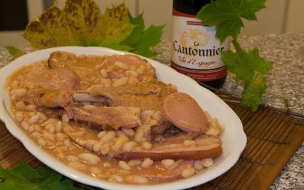 Recette cassoulet aux cuisses de canard 750g - Comment cuisiner des cuisses de canard ...