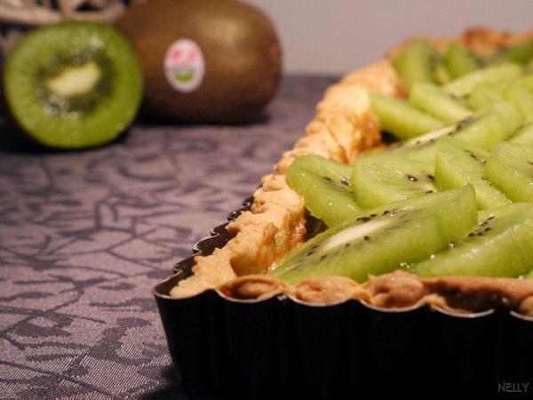 Recette tarte aux kiwis de l 39 adour et cr me de sp culoos 750g - Documentaire cuisine gastronomique ...