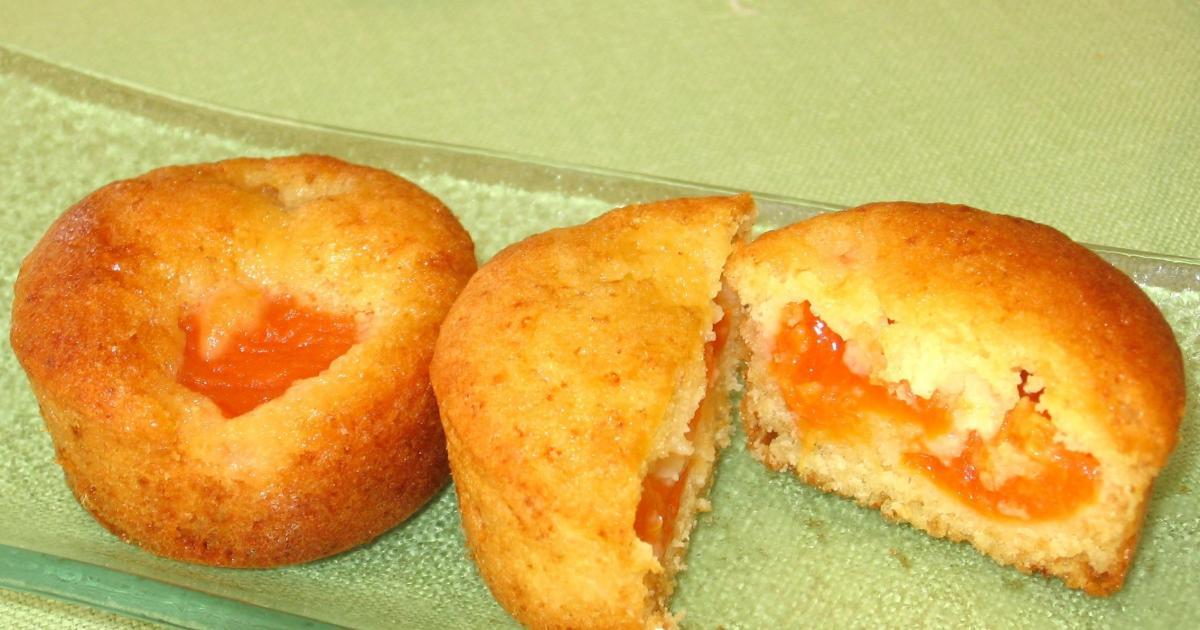 Gateau moelleux et leger aux abricots