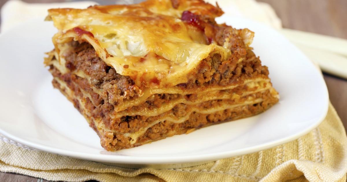 Lasagne Idee Recette.Lasagne Bolognaise