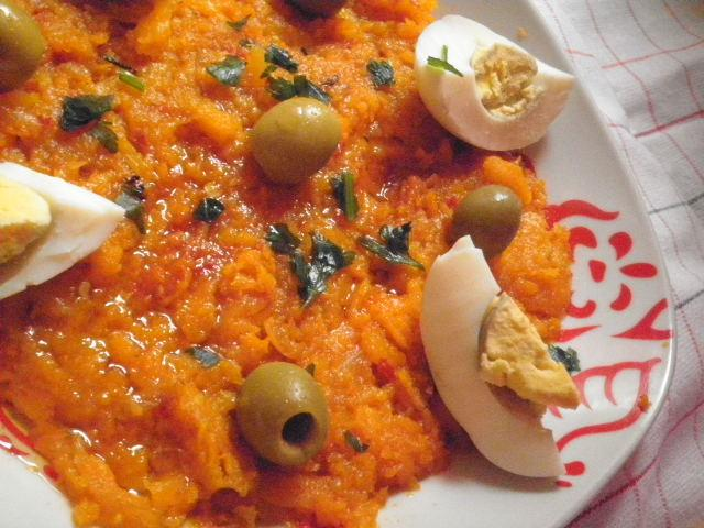Recette oumhouria salade de carotte tunisienne 750g - Cuisine tunisienne poisson ...